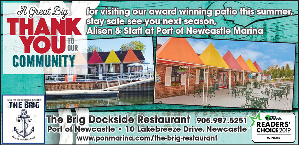 A big thank you to our community for visiting our award winning patio this summer, stay safe see you next season, Alison & Staff at Port of Newcastle Marina